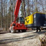 Stromgenerator Transport