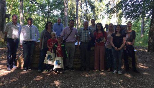 Unesco Delegation prüft Kolbinger Höhle