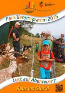 Familienprogramm 2015 ist da !