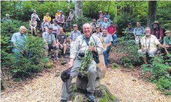 Naturschutzwarte lernen Kolbingen kennen