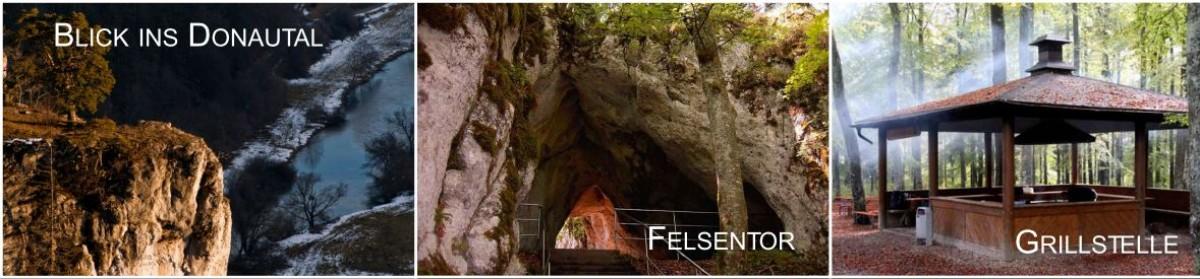 Impressionen des Naturdenkmal Kolbinger Höhle